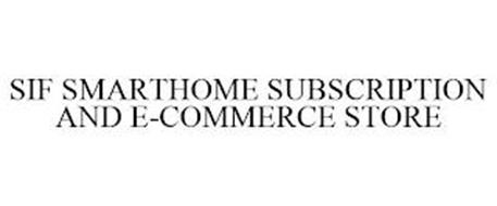 SIF SMARTHOME SUBSCRIPTION AND E-COMMERCE STORE