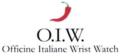 O.I.W. OFFICINE ITALIANE WRIST WATCH