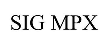 SIG MPX