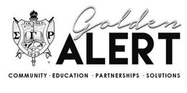 GOLDEN ALERT COMMUNITY · EDUCATION · PARTNERSHIPS · SOLUTIONS FOUNDED 1922