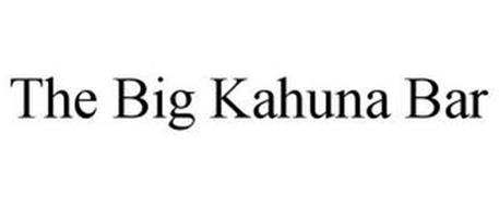 THE BIG KAHUNA BAR