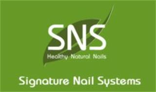 SNS HEALTHY NATURAL NAILS SIGNATURE NAIL SYSTEMS