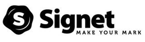 S SIGNET MAKE YOUR MARK
