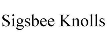 SIGSBEE KNOLLS