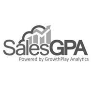 SALESGPA POWERED BY GROWTHPLAY ANALYTICS
