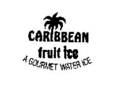 CARIBBEAN FRUIT ICE A GOURMET WATER ICE