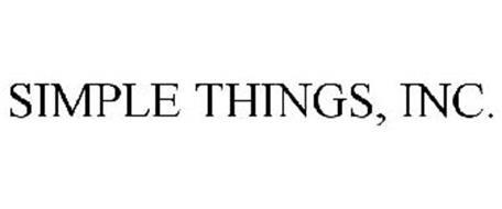 SIMPLE THINGS, INC.