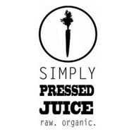 SIMPLY PRESSED JUICE RAW. ORGANIC.