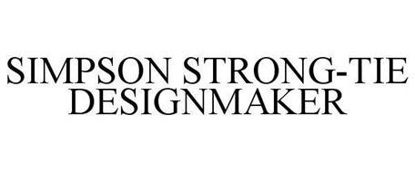 SIMPSON STRONG-TIE DESIGNMAKER