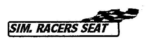 SIM. RACERS SEAT