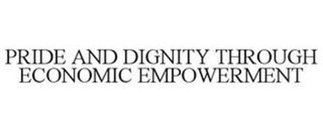 PRIDE AND DIGNITY THROUGH ECONOMIC EMPOWERMENT