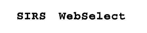 SIRS WEBSELECT