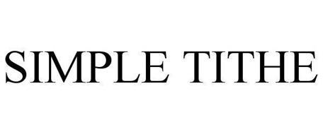 SIMPLE TITHE