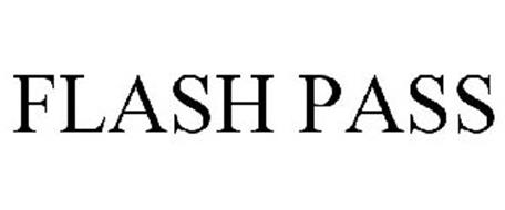 FLASH PASS Trademark of Six Flags Theme Parks, Inc  Serial Number