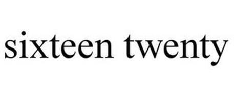 SIXTEEN TWENTY