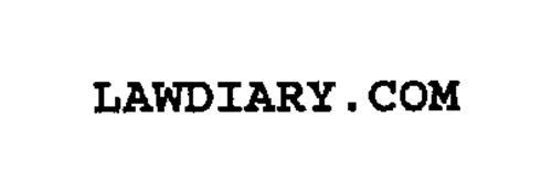 LAWDIARY.COM
