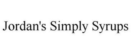 JORDAN'S SIMPLY SYRUPS