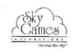 "SKY GAMES INTERNATIONAL ""WE MAKE TIME FLY!"""