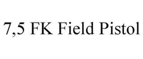 7,5 FK FIELD PISTOL