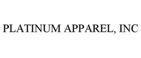 PLATINUM APPAREL, INC