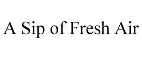 A SIP OF FRESH AIR