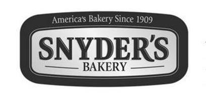 AMERICA'S BAKERY SINCE 1909 SNYDER'S BAKERY