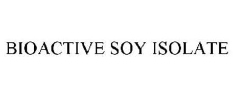 BIOACTIVE SOY ISOLATE