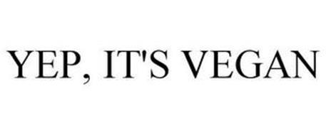 YEP, IT'S VEGAN