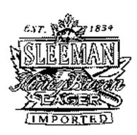 SLEEMAN HONEY BROWN LAGER IMPORTED EST. 1834