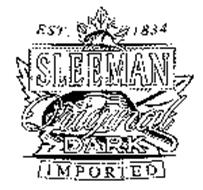 SLEEMAN ORIGINAL DARK IMPORTED EST. 1834