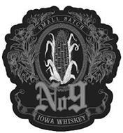 SMALL BATCH NO 9 IOWA WHISKEY
