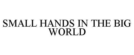 SMALL HANDS IN THE BIG WORLD