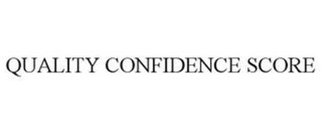 QUALITY CONFIDENCE SCORE