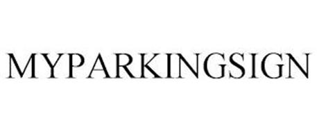 MYPARKINGSIGN