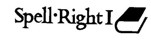 SPELL-RIGHT I