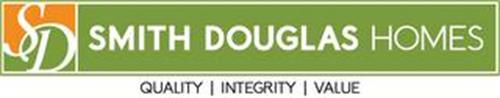 SD SMITH DOUGLAS HOMES QUALITY INTEGRITY VALUE