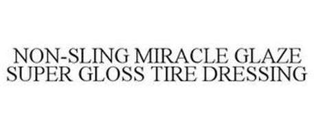 NON-SLING MIRACLE GLAZE SUPER GLOSS TIRE DRESSING