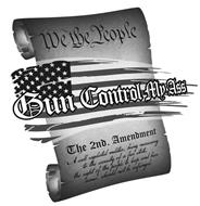 GUN CONTROL MY ASS WE THE PEOPLE THE 2ND. AMENDMENT A WELL REGULATED MILITIA, BRING NECESSARY TO THE SECURITY OF A FREE STATE, THE RIGHT OF THE PEOPLE TO KEEP AND BEAR ARMS, SHOULD NOT BE INFRINGED