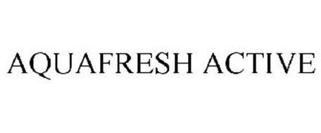 AQUAFRESH ACTIVE