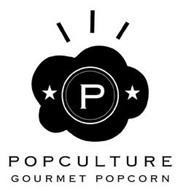 P POPCULTURE GOURMET POPCORN