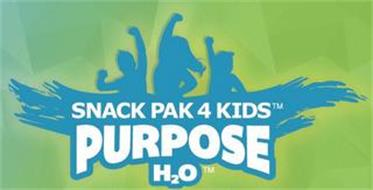 SNACK PAK 4 KIDS PURPOSE H2O