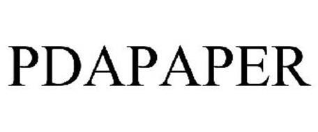 PDAPAPER