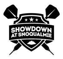 SHOWDOWN AT SNOQUALMIE