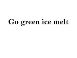 GO GREEN ICE MELT