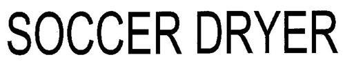 SOCCER DRYER
