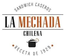 SANDWICH CASEROS LA MECHADA CHILENA RECETA DE 1929