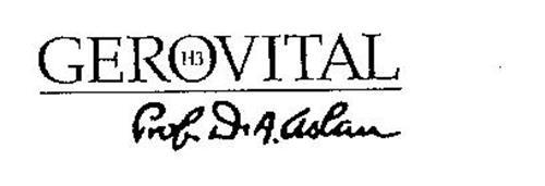 GEROVITAL H3 PROF.DR.A. ASLAN