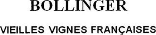 BOLLINGER VIEILLES VIGNES FRANÇAISES