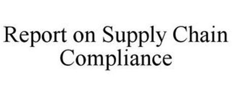 REPORT ON SUPPLY CHAIN COMPLIANCE