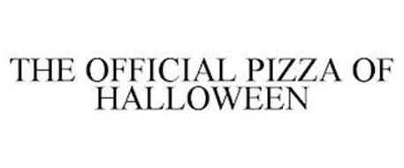 THE OFFICIAL PIZZA OF HALLOWEEN